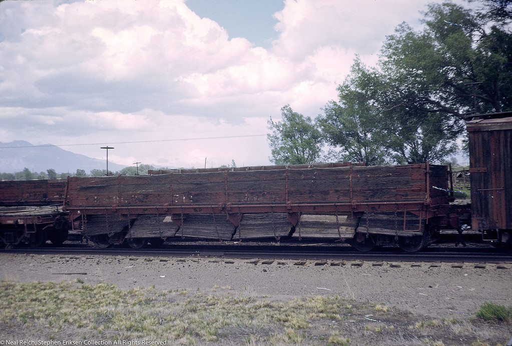 June, 1969 Drop Bottom Gon #712 in Alamosa, CO