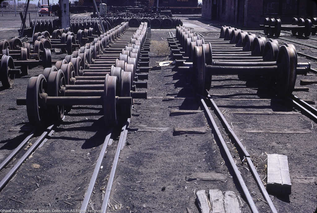 May, 1967 wheel sets in Alamosa, CO
