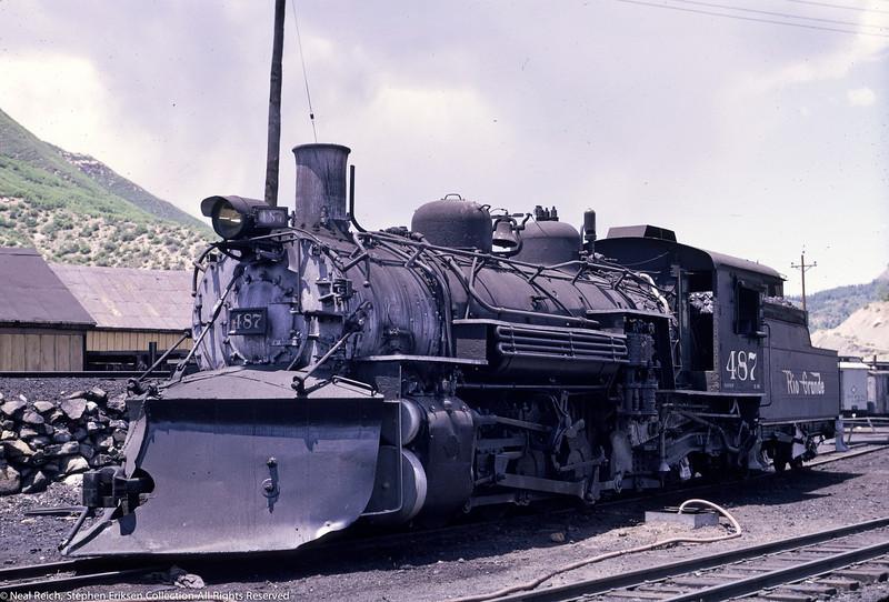 June 20, 1966 K-36 #487 at Durango, CO