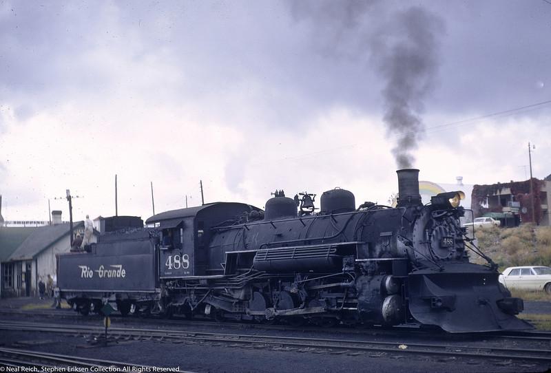October 1, 1966 K-36 #488 In Chama, NM