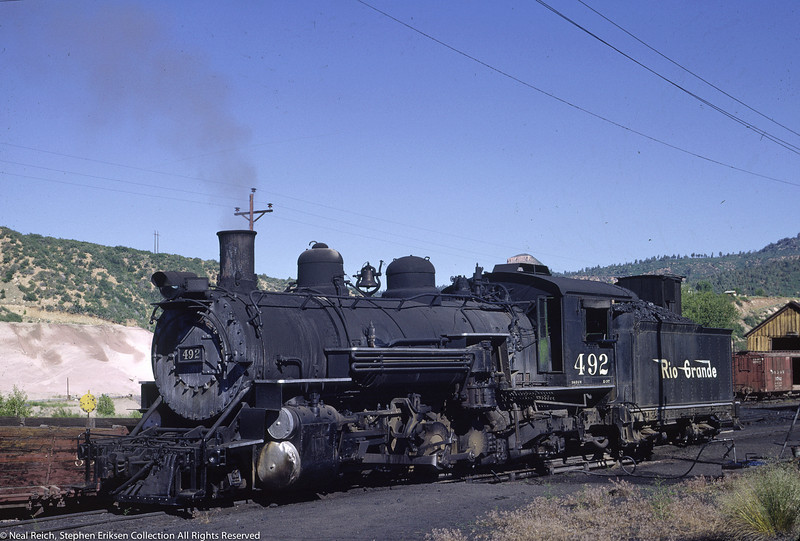 June 20, 1966 K-36 #492 at Durango, CO