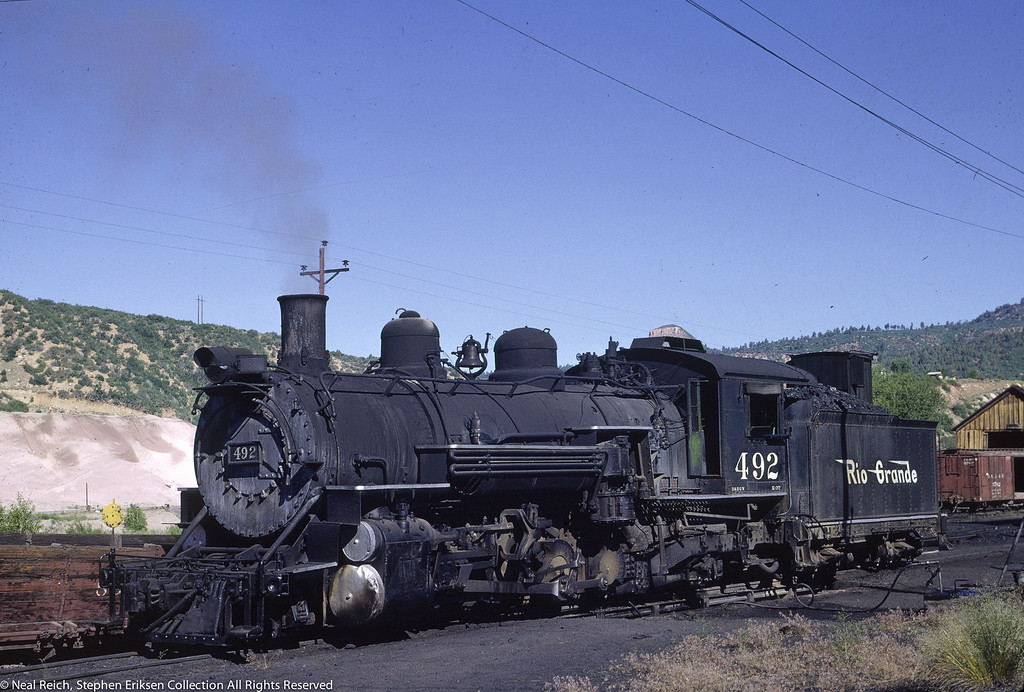 June 20, 1966 K-36 #492 at Durango, CO