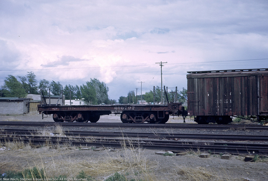 June, 1969 Idler car 010797 in Alamosa