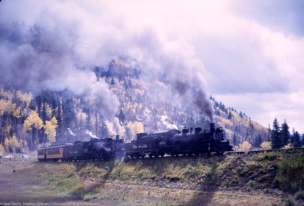 October 1, 1966 Kolor Karavan K-36 #488 and #487 Lobato, CO