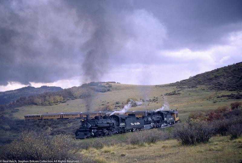 October 1, 1966 Kolor Karavan K-36 #488 and #487 Cresco, CO