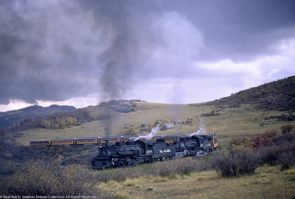 October 1, 1966 Kolor Karavan K-36 #488 and #487 Cresco, CO