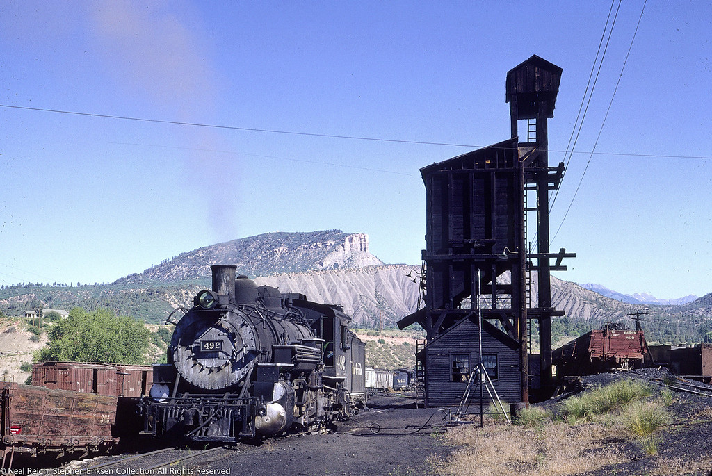 June 20, 1966 K-37 #492 at Durango, CO