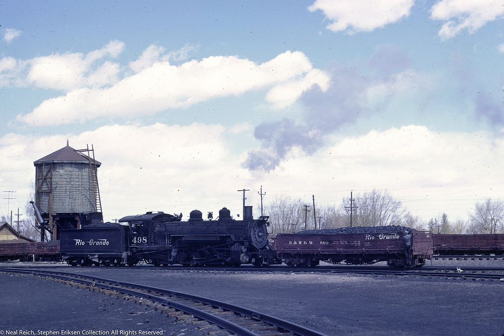 May, 1967 K-37 #498 at Alamosa, CO