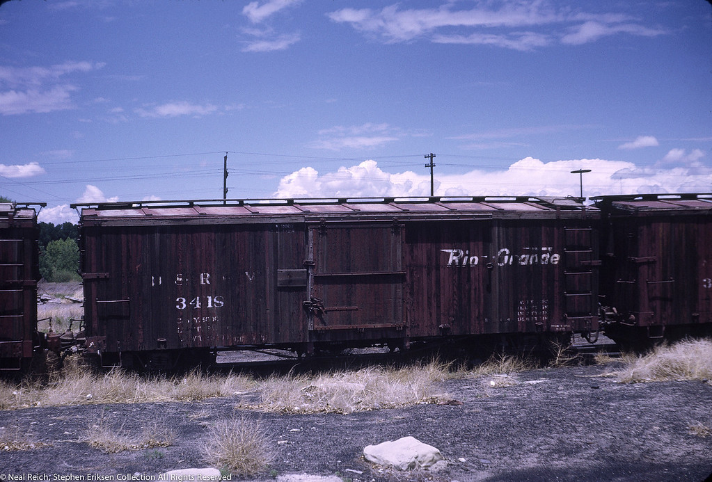 June, 1969 Boxcar 3418 in Alamosa