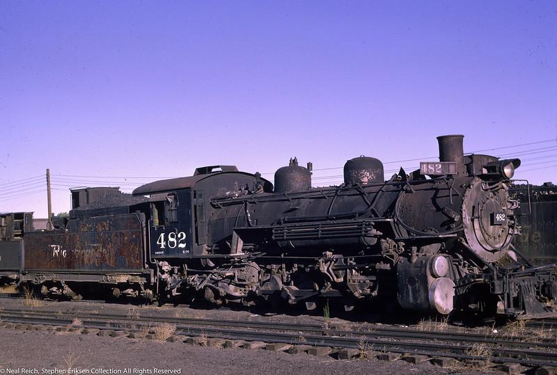 June 12, 1966 K-36 #482 at Alamosa, CO