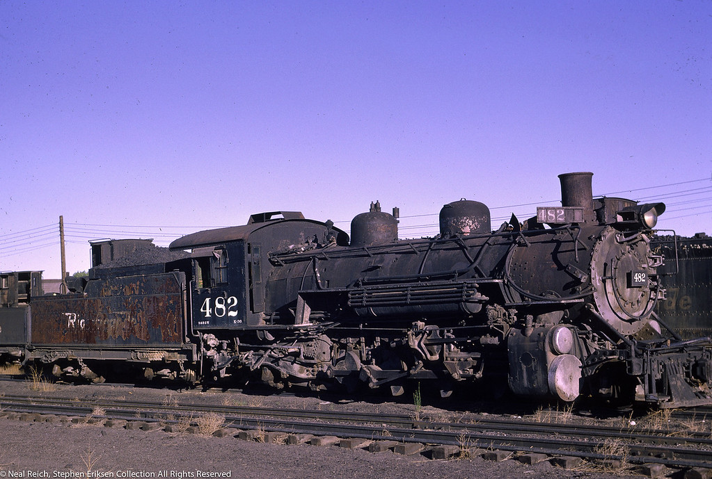June 12, 1966 K-36 #482 at Alamosa, CO