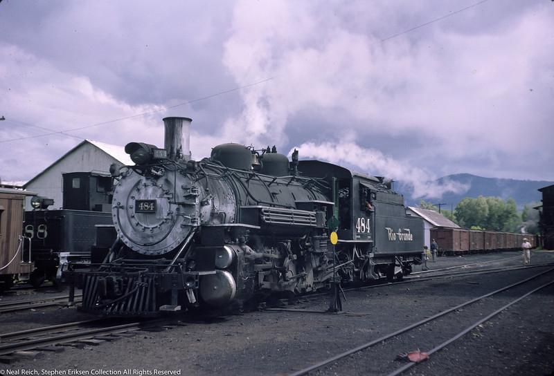 June 21, 1966 K-36 #484 at Chama, NM