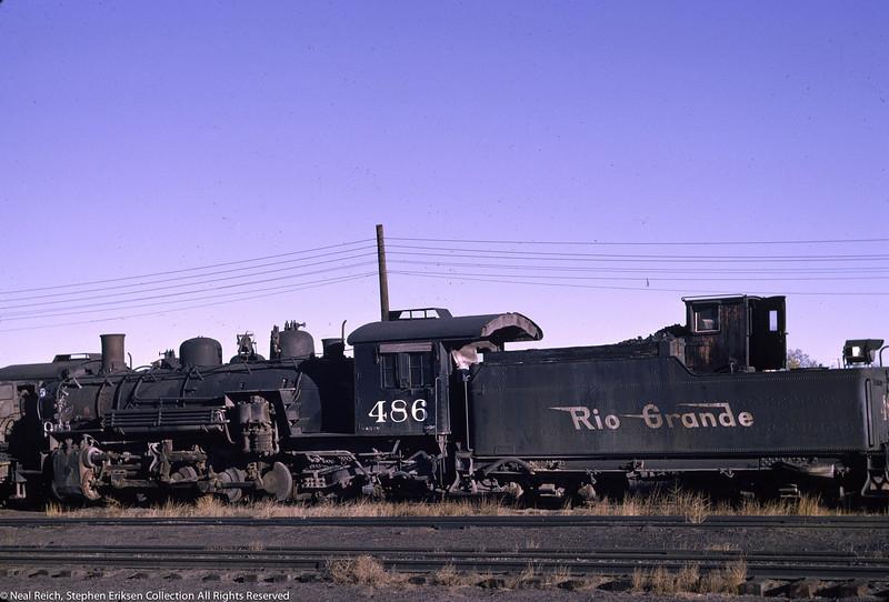 June 12, 1966 K-36 #486 at Alamosa, CO