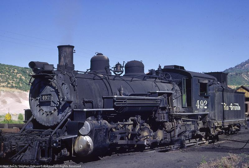 june 20, 1966 K-37 #492 at Durango, CO