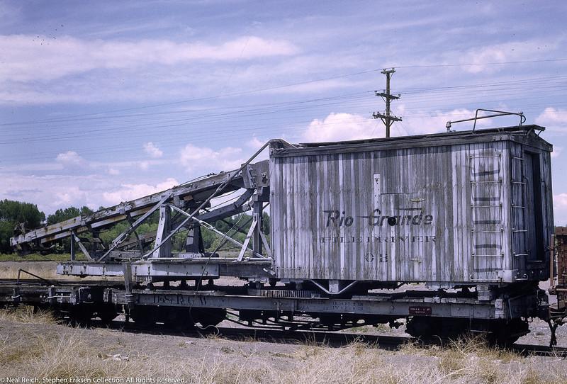 July, 1968 MOW Derrick OP in Alamosa, CO