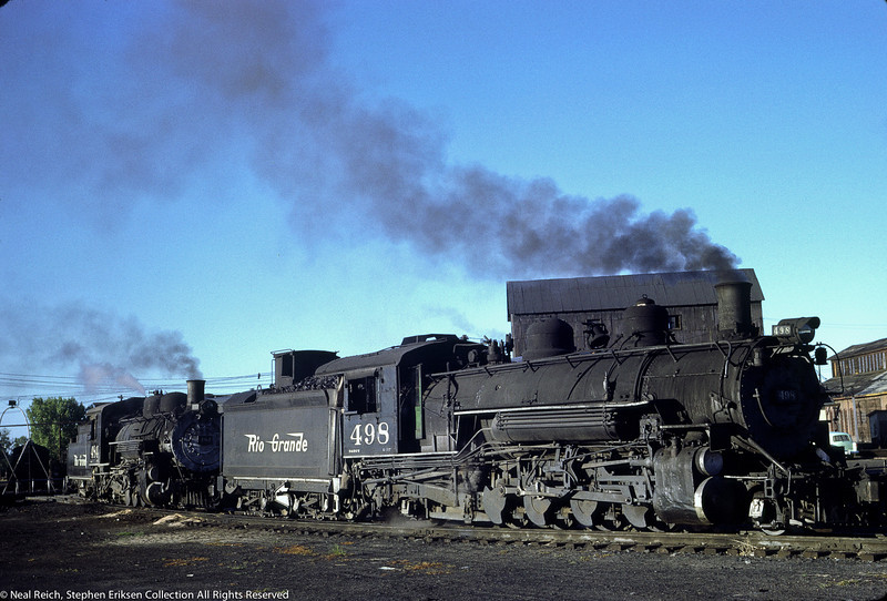 June 21, 1967 K-37 #498 and K-36 #464 in Alamosa, CO