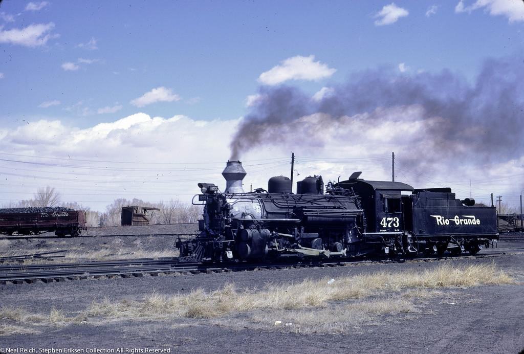 May, 1967 K-28 #473 in Alamosa, CO