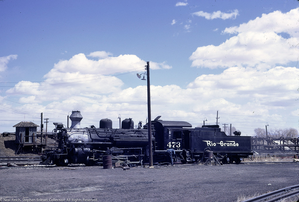 May, 1967 K-28 #473 at Alamosa, CO