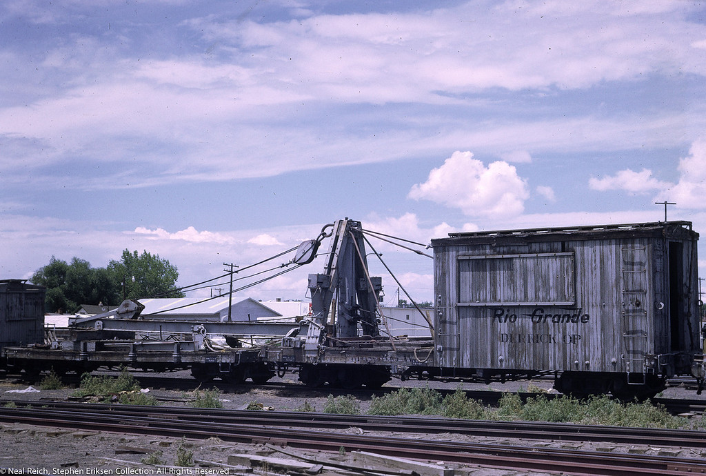 July, 1968 MOW Derrick OP and flat in Alamosa, CO