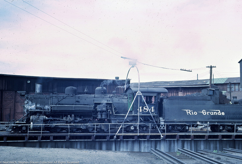 June 20, 1967 K-36 #464 in Alamosa, CO