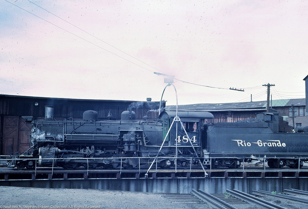 June 20, 1967 K-36 #464 in Alamosa, CO