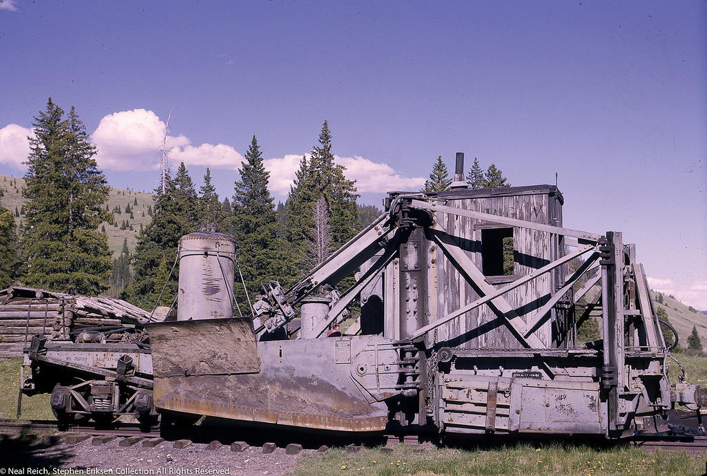 June, 1966 MOW Spreader Cumbres, CO