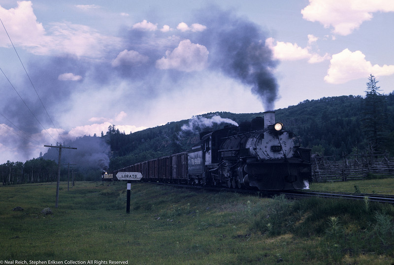 #483 and #493 on 1st turn at Lobato, NM on July 18, 1968.