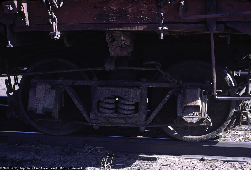 May, 1967 detail of Drop Bottom Gon in Alamosa, CO