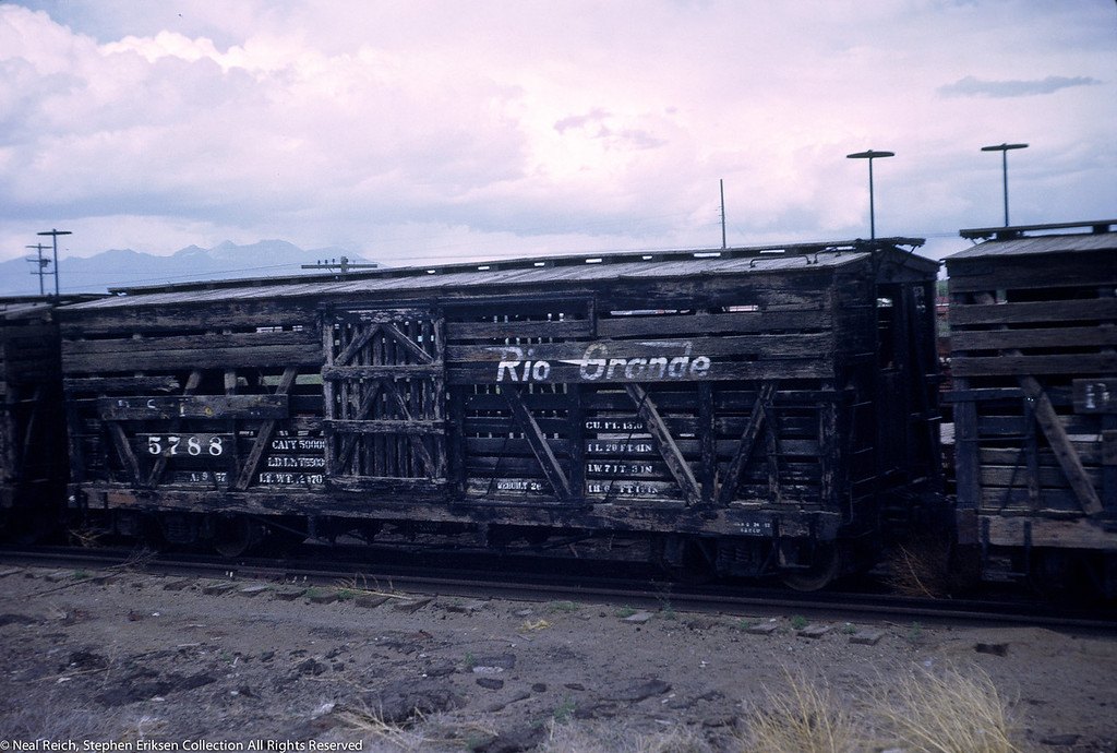 June, 1969 Stock Car 5788 in Alamosa