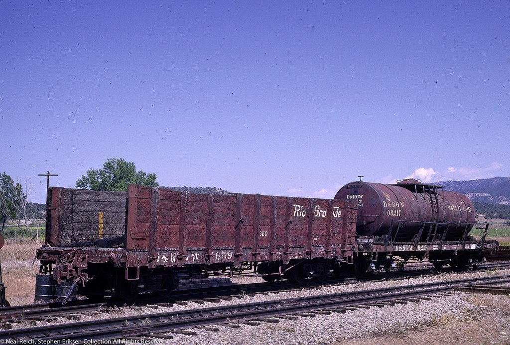 May, 1966 Pipe Gon 659 and Tank 06217 Arboles, CO
