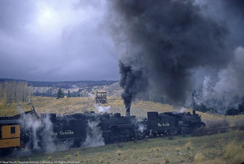 October 1, 1966 Kolor Karavan K-36 #488 and #487 at Coxo, CO