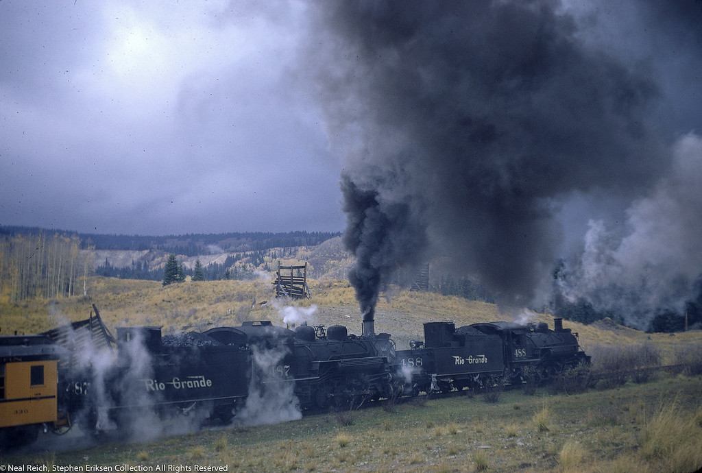 October 1, 1966 Kolor Karavan K-36 #488 and #487 at Coxo, CO