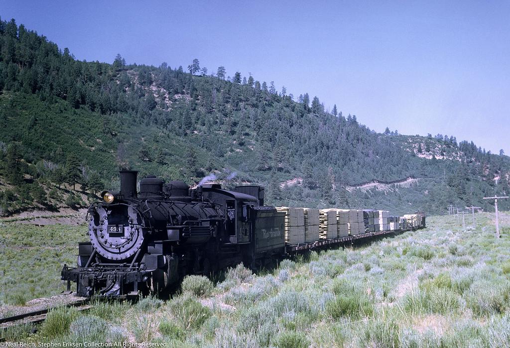 #498 east of Monero, NM on July 18, 1968.