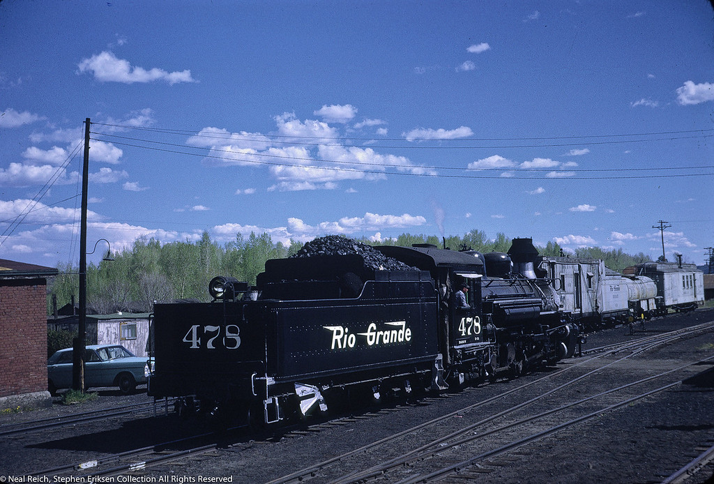 May 28, 1968 K-28 #478 in Chama, NM