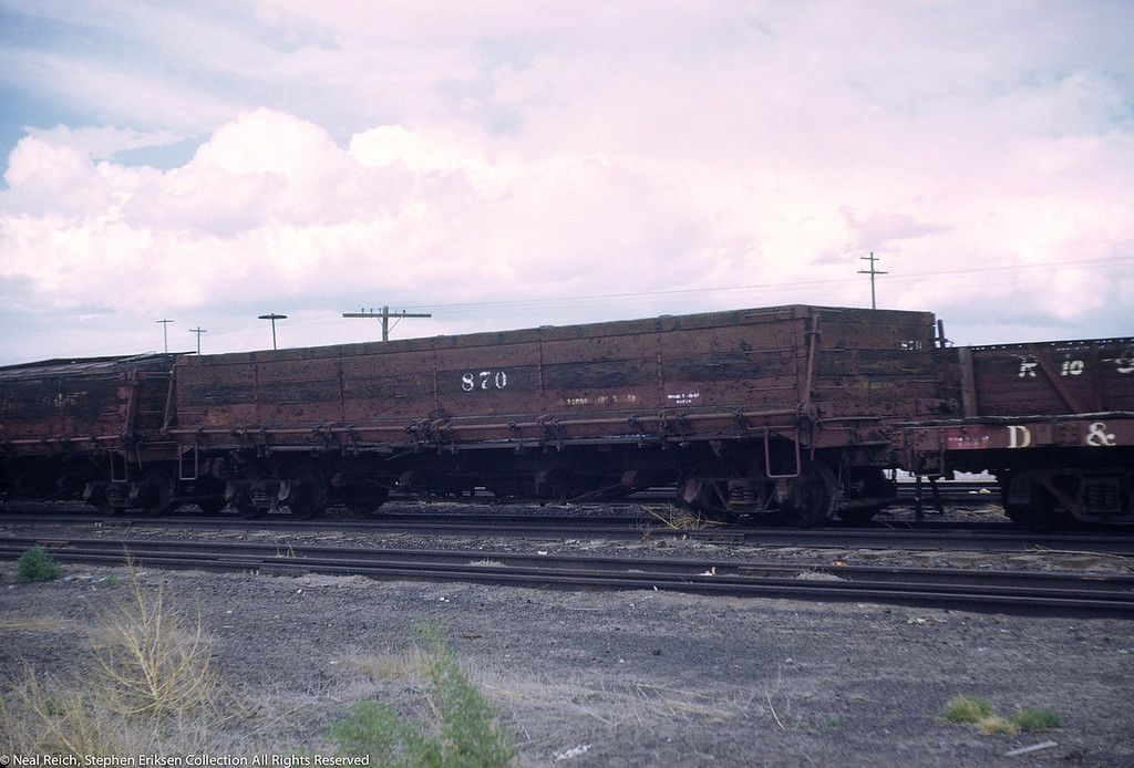 June, 1969 Drop Bottom Gon 870 in Alamosa