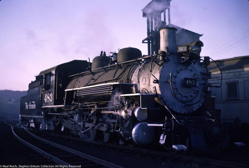 May 29, 1966 K-36 #483 Durango, CO