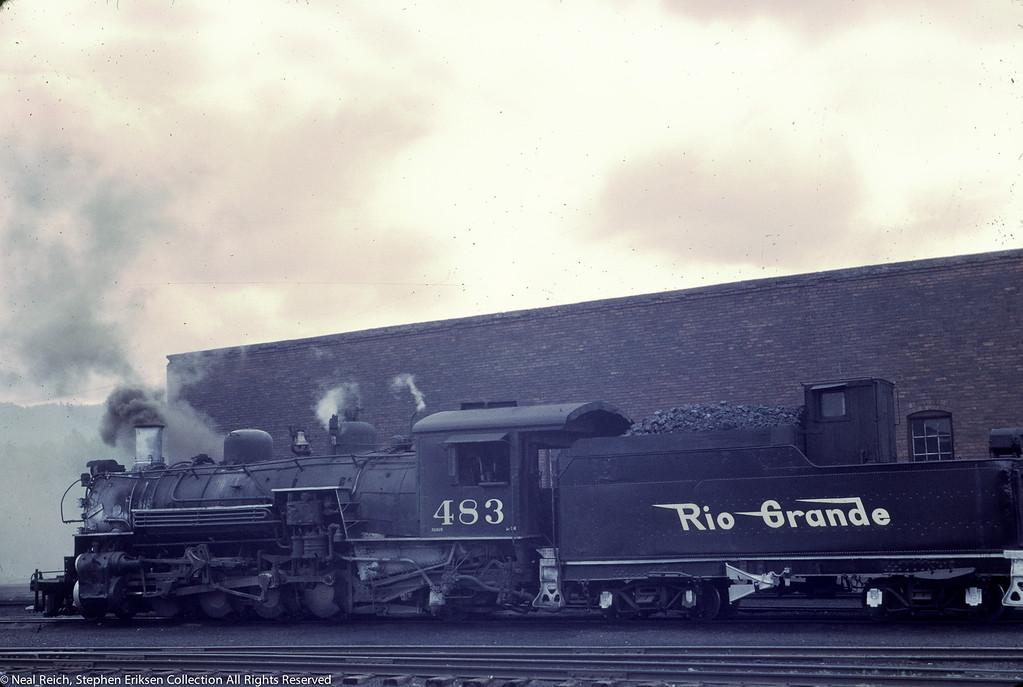 June 21, 1966 K-36 #483 Chama, NM
