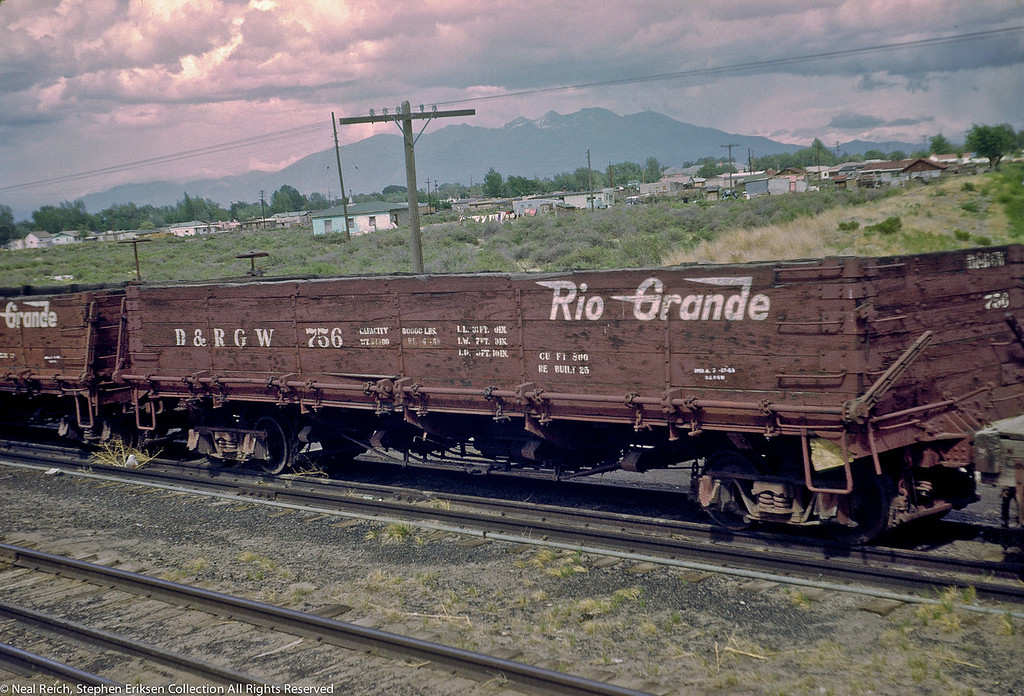 June, 1969 Drop Bottom Gon #756 Alamosa, CO
