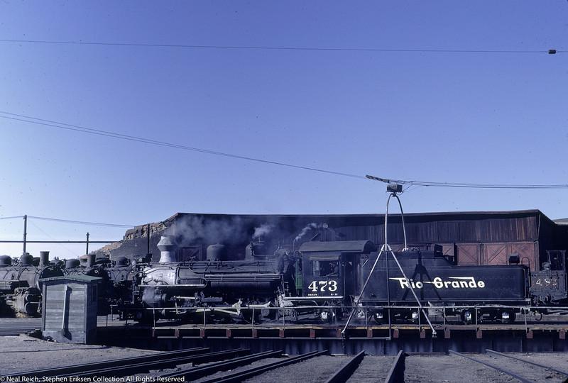 May of 1967 K-28 #473 at Alamosa, CO