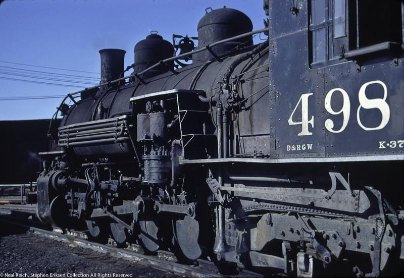 May, 1967 K-37 #498 in Alamosa, CO