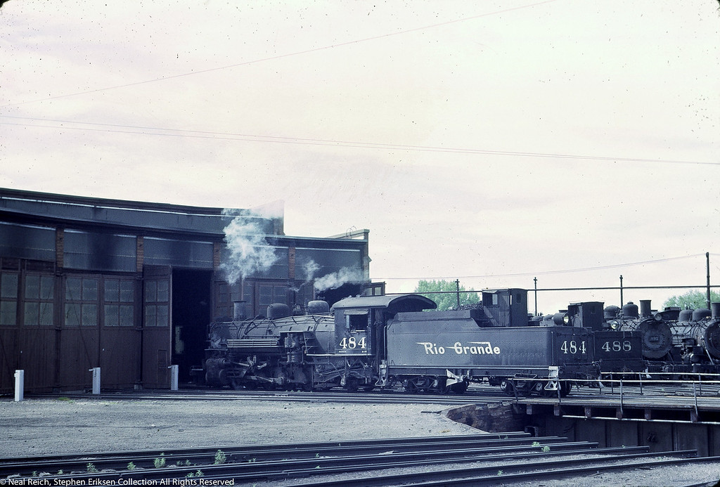 June 20, 1967 K-36 #484 in Alamosa, CO