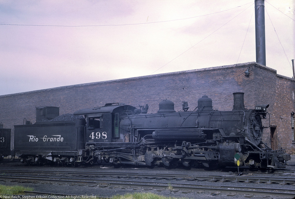 July, 1968 K-37 #498 in Chama, NM