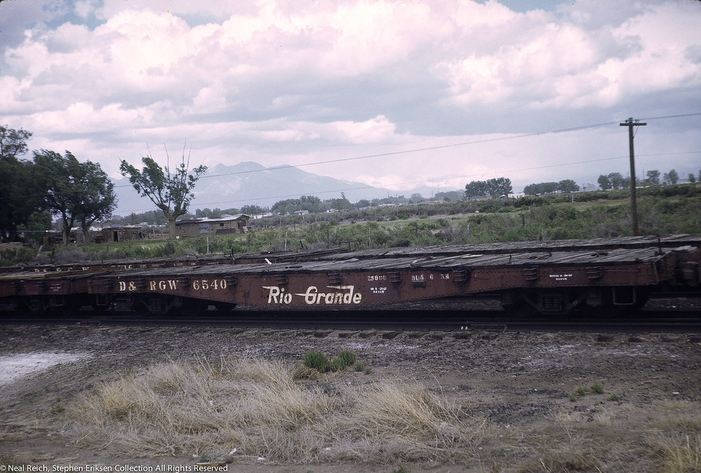 June, 1969 Steel Flat #6540 in Alamosa, CO