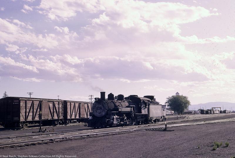 June 12, 1966 K-36 #492 at Alamosa, CO
