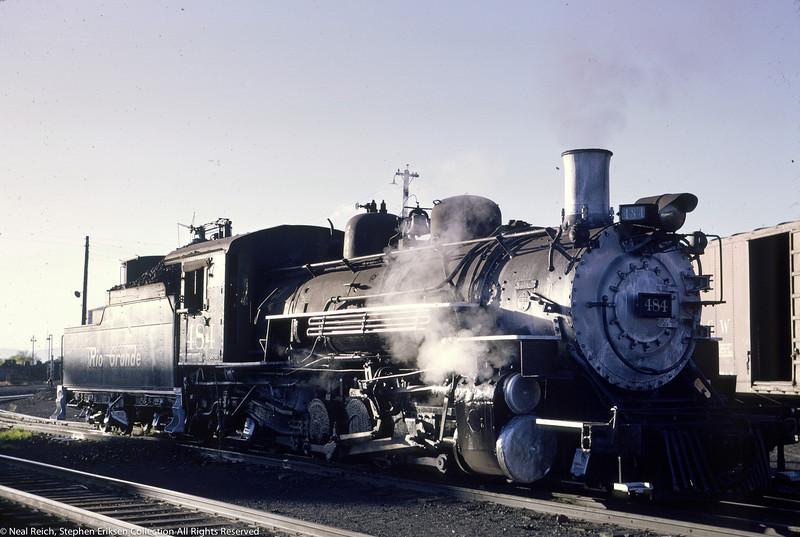 June 13, 1966 K-36 #484 at Alamosa, CO
