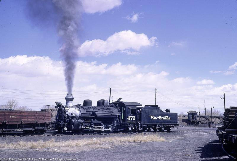 May, 1968 K-28 #473 in Alamosa, CO