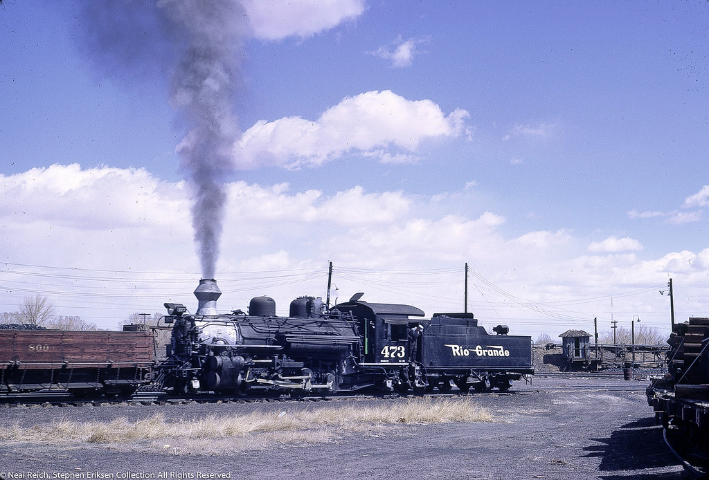 May, 1968 K-28 #473 in Alamosa, CO