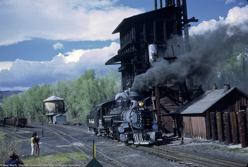 May 28, 1968 K-28 #476 in Chama, NM