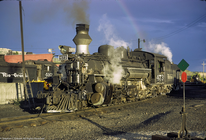 The pot of gold is located in Durango in this shot from August of 1971.
