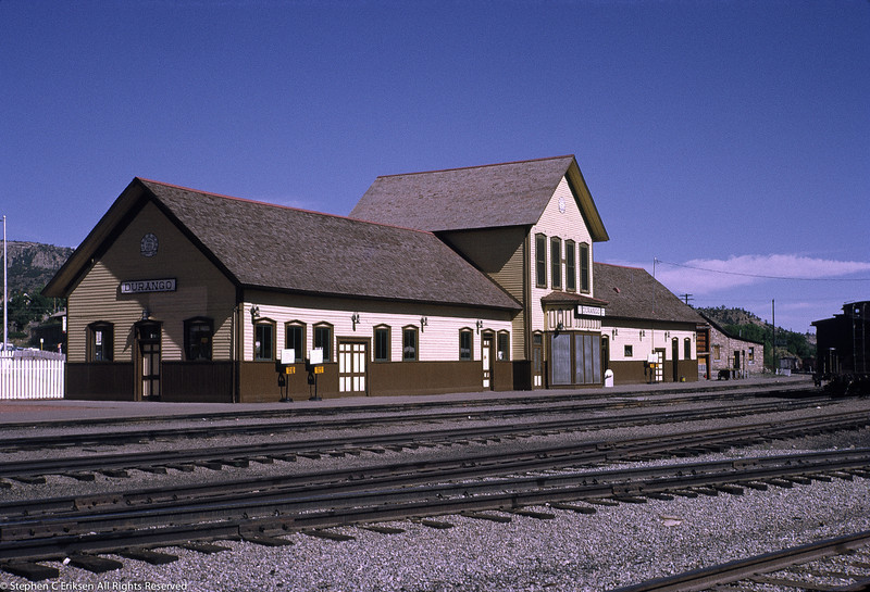 Durango depot looking sharp in this July 1970 shot
